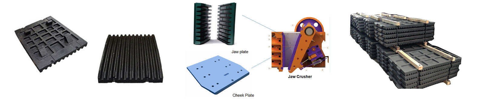 jaw plate 1600 328